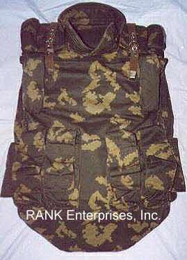 Body Armor, Titanium, Ceramics, Commando, Bulletproof, RANK